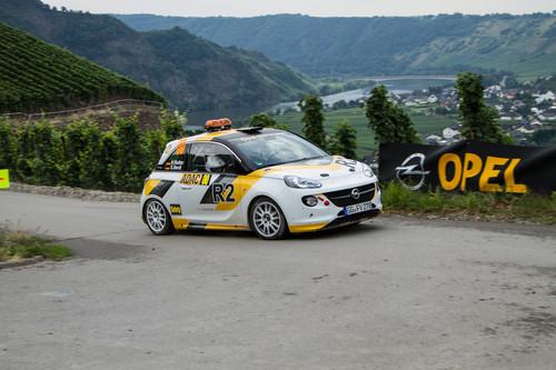 Opel Adam R2 bei der ADAC Rallye Deutschland.