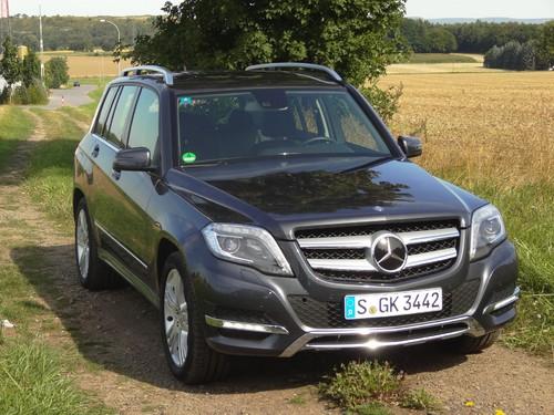 Mercedes-Benz GLK 220 CDI.