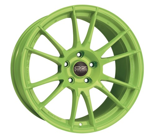 OZ Ultraleggera HLT in Acidgreen.