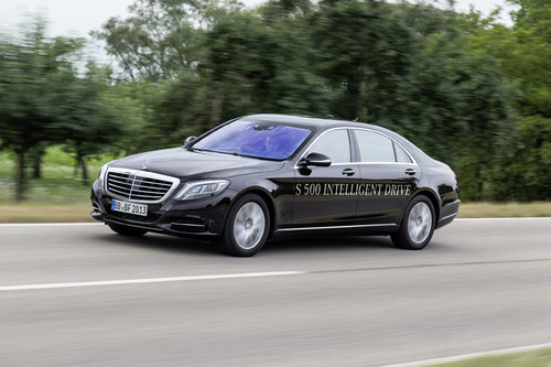 Mercedes-Benz S 500 Intelligent Drive.