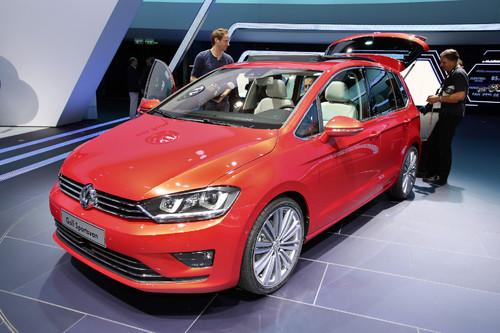 Volkswagen Golf Sportsvan.