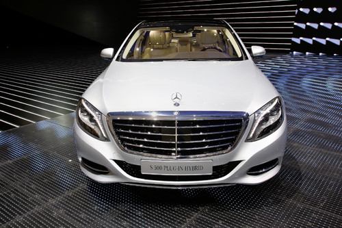 Mercedes-Benz S 500 Plug-in Hybrid.