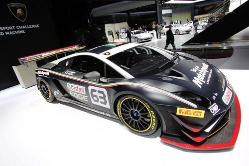 Lamborghini Gallardo GT3.