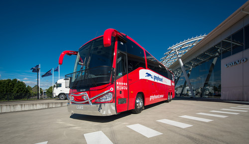 Volvo B13R als Greyhound-Bus in Australien.