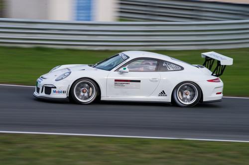 Porsche 911 GT3 Cup beim Mobil 1 Supercup.