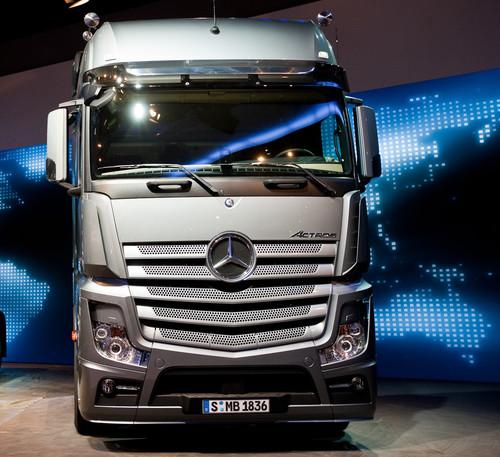 Mercedes-Benz Actros.