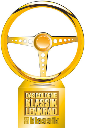 """""""Das Goldene Klassik-Lenkrad""""."""