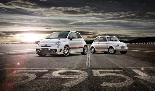 "Fiat 500 Abarth 595 ""50th Anniversary""."