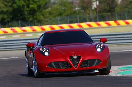 Alfa Romeo 4C.