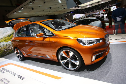 BMW Concept Active Tourer Outdoor.
