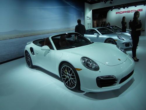 Porsche 911 Turbo S Cabriolet.