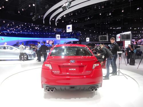 Subaru WRX.