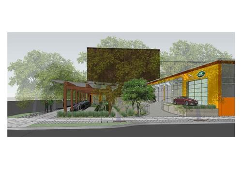 Geplantes Forschungs- und Entwicklungszentrum von Jaguar und Land Rover in Portland.