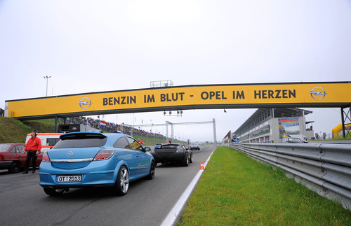 Opeltreffen in Oschersleben wieder über Himmelfahrt.