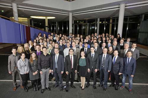 Volkswagen ehrt 178 Absolventen des Dualen Studiums.