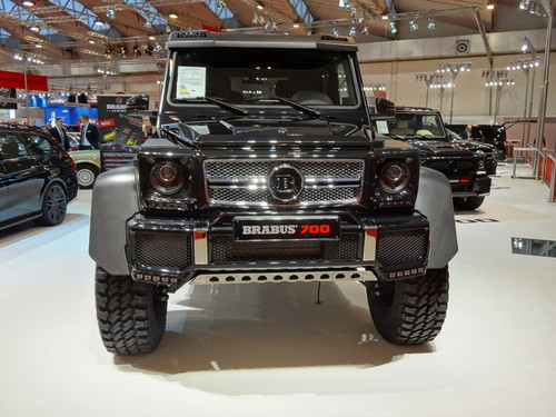 Eindrücke von der Essen Motor Show: Mercedes-Benz G AMG 6x6 als Brabus 700.