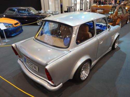 Eindrücke von der Essen Motor Show: Auch ein Teilnehmer beim Hella Show & Shine-Award, der Trabant vom Maik Kalsow.