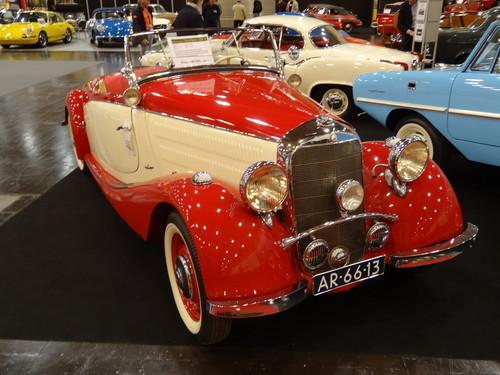 Eindrücke von der Essen Motor Show: Mercedes-Benz 170 V Cabriolet von 1936, Preis 149 900 Euro.