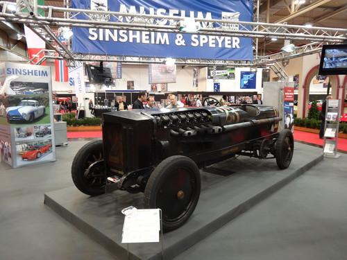 Eindrücke von der Essen Motor Show: Brutus von 1917/18 mit 500 PS-BMW-Motor mit zwölf Zylindern und 40 Litern Hubraum, der kurzzeitig 750 PS leistete.
