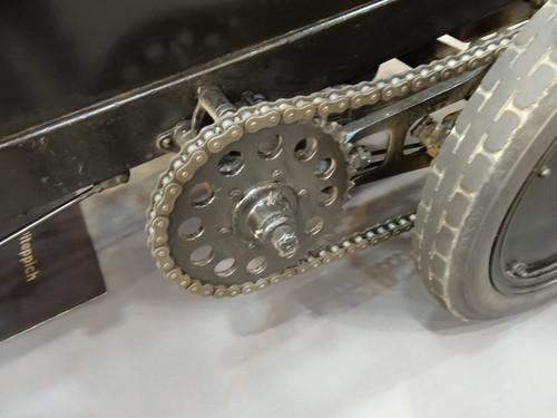 Eindrücke von der Essen Motor Show: Brutus von 1917/18 mit 500 PS-BMW-Motor, der kurzzeitig 750 PS leistete.