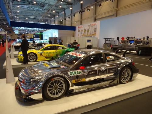 Eindrücke von der Essen Motor Show: DTM-Sonderausstellung.