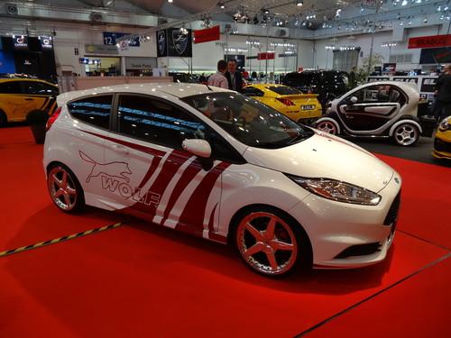 Eindrücke von der Essen Motor Show: Wolf Ford Fiesta ST 360.