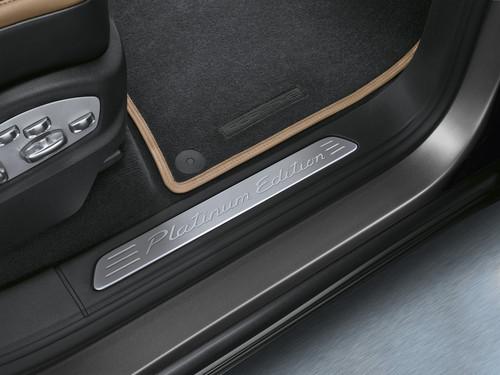 Porsche Cayenne Platinum Edition.
