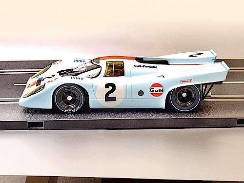 """""""Modellfahrzeug des Jahres 2013"""": Porsche 917K von Carrera (1:24)."""