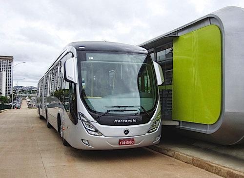 Mercedes-Benz liefert 500 Fahrgestelle für das BRT-System in Belo Horizonte.