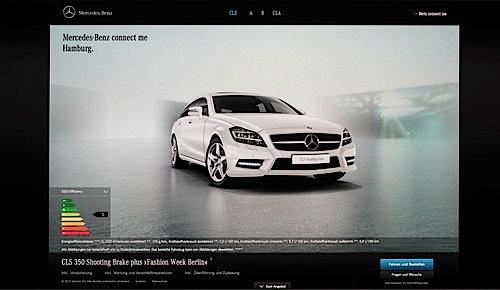 Mercedes-Benz Internet-Vertrieb.