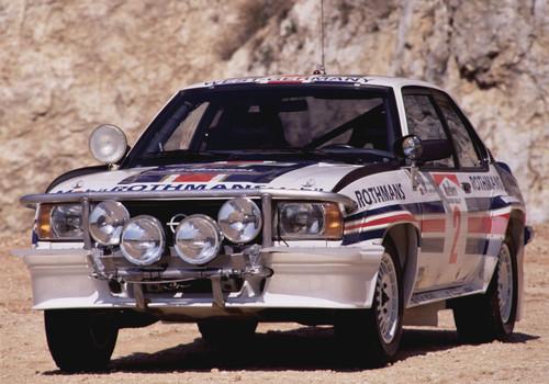 Opel Ascona 400 Gruppe 4 mit 177 kW / 240 PS starken Vierventiler (1983).