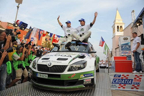Skoda-Triumph in der ERC 2013.
