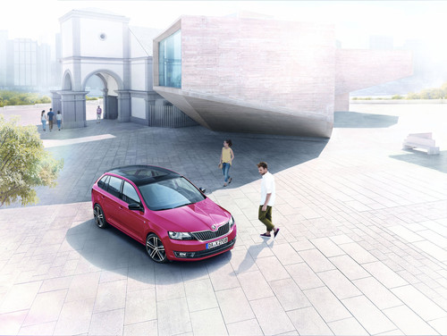 Skoda Rapid Spaceback.