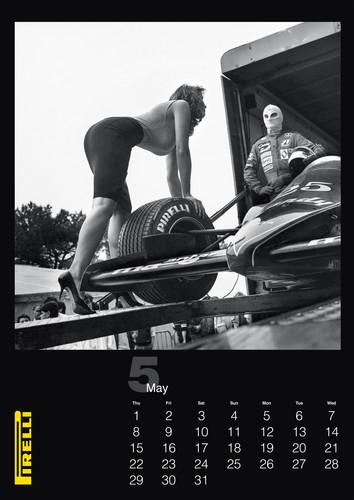 Pirelli-Kalender 2014.