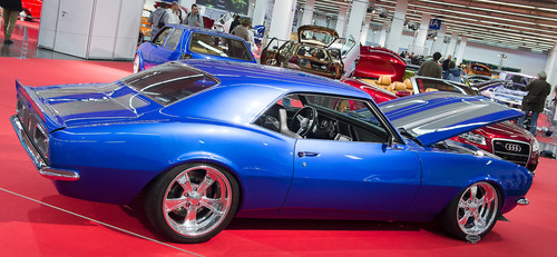 Essen Motor Show 2013: Modifizierter Chevrolet Camaro von 1968.