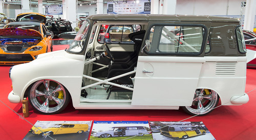 Essen Motor Show 2013: Getunter Volkswagen Fridolin mit 450 PS.
