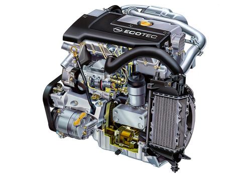 Opel-Motor 2.2 Diesel Direct 16V (1996).
