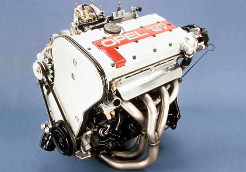 Motor des Opel Kadett GSi 16V.