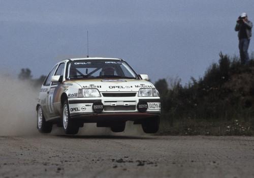 Opel Kadett GSi.