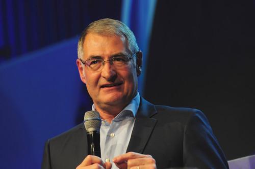 Ehrung der WRC-Meister: Heinz-Jakob Neußer.