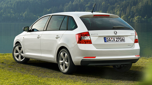 Skoda Rapid Spaceback Green Line.