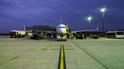 Flughafen Weeze.