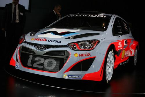 Hyundai i20 WRC.