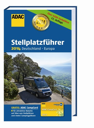 ADAC-Stellplatzfüherer 2014.