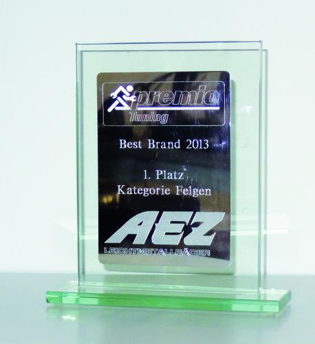 """""""Premio Tuning""""-Award für AEZ."""