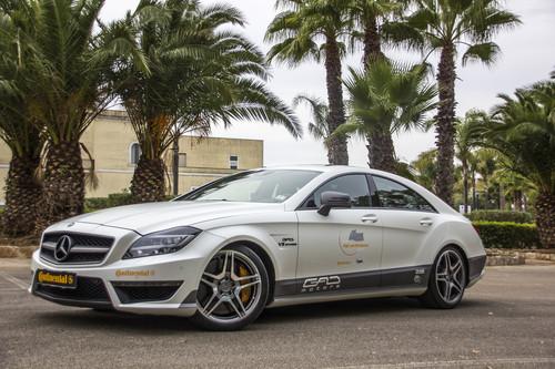 Der Mercedes CLS 63 AMG mit 803 PS von GAD erreichte in Nardo 353,7 km/h.
