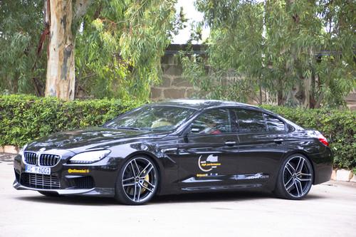 Der BMW M6 Gran Coupé mit 620 PS von AC Schnitzer erreichte in Nardo eine Höchstgeschwindigkeit von 328,9 km/h.