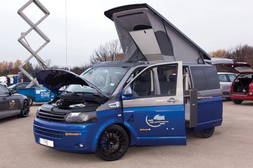 Geschwindigkeitsrekord: Der VW TH5 von Thomsen brachte es in Nardo mit seinen 580 PS auf unglaubliche 270,9 km/h.