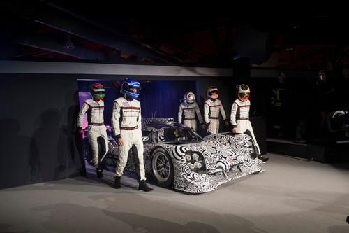 Posche Motorsport in der Saison 2014: Porsche 919 hybrid.