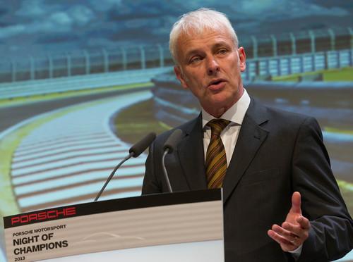 Posche Motorsport in der Saison 2014: Matthias Müller.